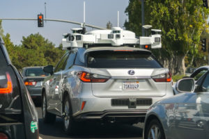 Self driving vehicle that utilizes machine learning