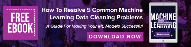 Free EBook - resolve 5 common ML Data Cleaning Problems