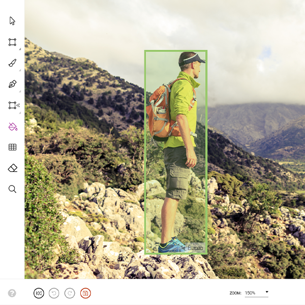 image showing object detection capabilities