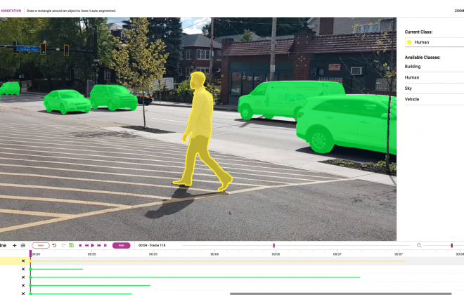 assisted video annotation